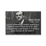 Paul Dirac Quantum Theory Rectangle Magnet