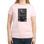 Paul Dirac Quantum Theory Women's Pink T-Shirt