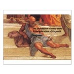 Cynic Philosophy Diogenes Small Poster