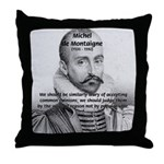 Individual Freedom Montaigne Throw Pillow