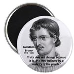 Freedom of Thought Bruno Magnet