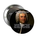 "Composer J.S. Bach 2.25"" Button (10 pack)"