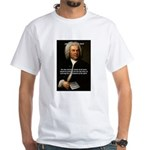 Glory God Music J. S. Bach White T-Shirt