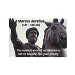 Emperor Marcus Aurelius Rectangle Magnet (10 pack)