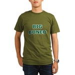 Big Boned Organic Men's T-Shirt (dark)