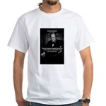 Sir Winston Churchill White T-Shirt