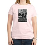 Marie Curie Physics Liberty Women's Pink T-Shirt