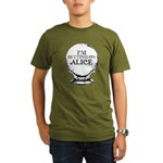 Betting On Alice Organic Men's T-Shirt (dark)