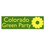 Colorado Green Party Bumper Sticker