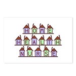 Home Health Nurse Houses Postcards (Package of 8)