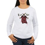 Knit Nut Women's Long Sleeve T-Shirt