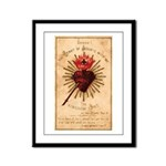 Heart of Jesus Framed Panel Print
