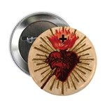 "Heart of Jesus 2.25"" Button"