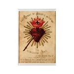 Heart of Jesus Rectangle Magnet