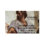 Aristotle Education Quote Rectangle Magnet