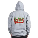 Christmas Edward Zip Hoodie