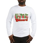 Christmas Edward Long Sleeve T-Shirt