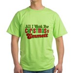 Christmas Emmett Green T-Shirt