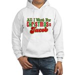 Christmas Jacob Hooded Sweatshirt