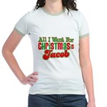 Christmas Jacob Jr. Ringer T-Shirt