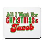 Christmas Jacob Mousepad