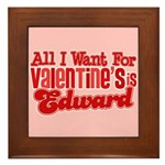 Edward Valentine Framed Tile