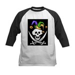 Mardi Gras Kids Baseball Jersey