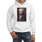 Kant Moral Law: Hooded Sweatshirt