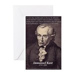 Immanuel Kant Reason Greeting Cards (Pk of 10)