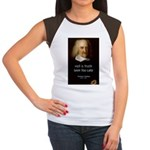 Thomas Hobbes Truth Women's Cap Sleeve T-Shirt