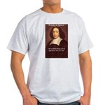 Spinoza Ethics Philosophy Ash Grey T-Shirt