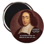 Spinoza Ethics Philosophy Magnet