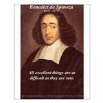 Spinoza Ethics Philosophy Small Poster