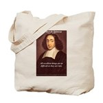 Spinoza Ethics Philosophy Tote Bag