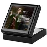 Isaac Newton Laws Motion Keepsake Box