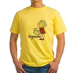 Organizer Yellow T-Shirt