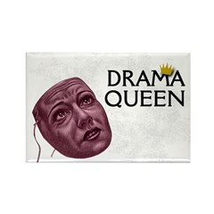 Drama Queen Fridge Magnet