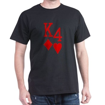 King Four Poker Shirts
