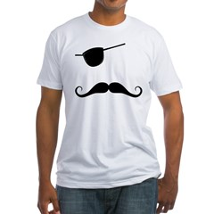 The Pirate Stache Tshirt
