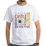 Castle Fan White T-Shirt