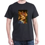 Death of Cleopatra Black T-Shirt