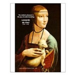Leonardo da Vinci Pleasure Small Poster
