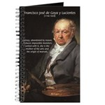Goya Fantasy Monster Quote Journal