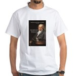 Goya Fantasy Monster Quote White T-Shirt