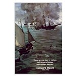 Manet Painting Color Quote Large Poster