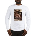 Michelangelo Perfection Quote Long Sleeve T-Shirt