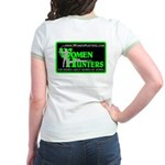WomenHunters Jr. Ringer T-Shirt web address