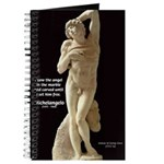 Michelangelo Angel in Sculpture Journal