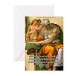Michelangelo Art Philosophy Greeting Cards (Packag