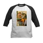 Michelangelo Art Philosophy Kids Baseball Jersey